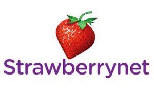 strawberrynet סטרוברינט לוגו